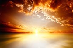 Gece Gökyüzü-Günbatımı 11