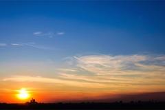 Gece Gökyüzü-Günbatımı 12
