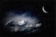 Gece Gökyüzü-Günbatımı 14